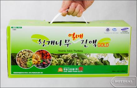 Thực phẩm chức năng Nước Bổ Gan Hovenia Dulcia Thunberg – Hàn Quốc